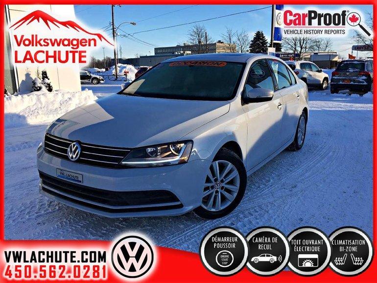 Volkswagen Jetta ***WOLFSBURG+MAGS+AIR 2 ZONES+PARFAITE CONDITION+ 2017
