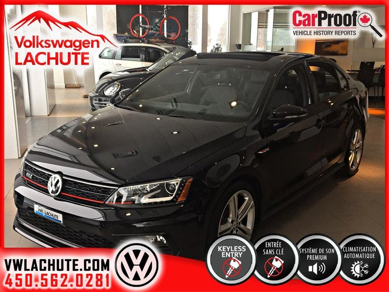 2017 Volkswagen Jetta GLI Autobahn**** VÉHICULE NEUF LIQUIDATION****