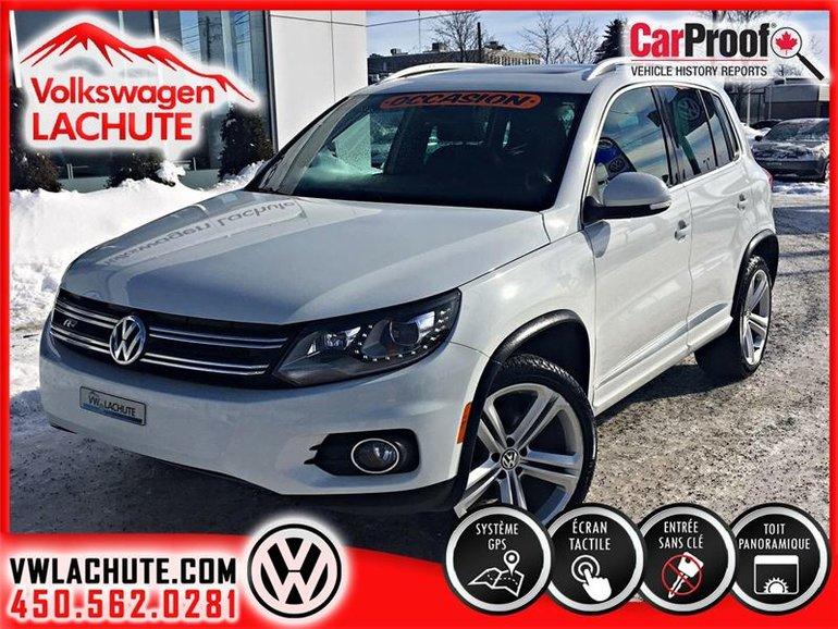 Volkswagen Tiguan HIGHLINE+R-LINE+1 PROPRIO+BI-ZÉNON+ROUES 19 PO.+ 2016