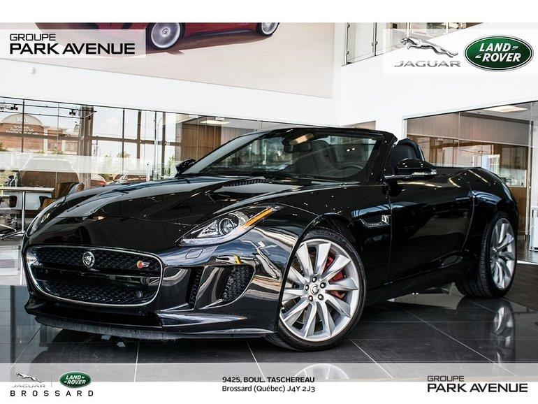 Jaguar F-Type S   SYSTÈME DE NAV + CAMÉRA DE RECUL 2014