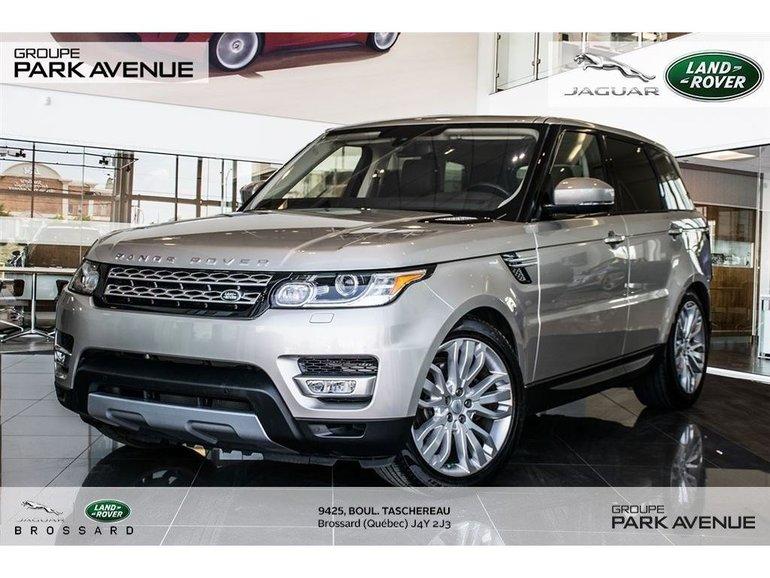 2016 Land Rover Range Rover Sport DIESEL Td6 HSE * Certifié*