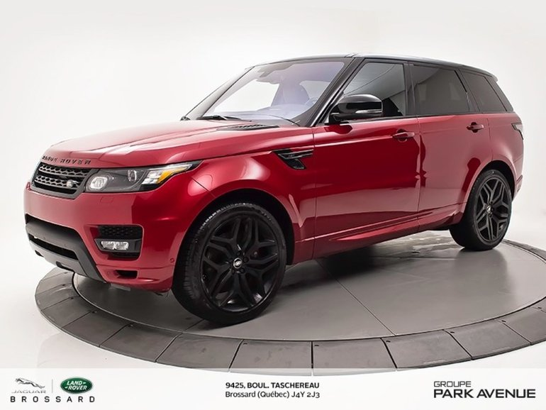 2016 Land Rover Range Rover Sport HST BLACK CONTRAST+NAV !