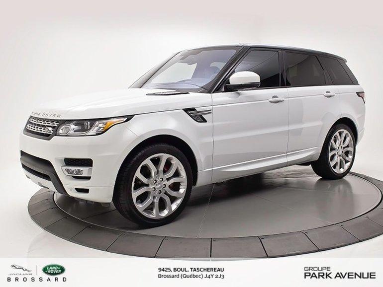 2016 Land Rover Range Rover Sport V8 Supercharged | CERTICATION 6ANS OU 160 000KM