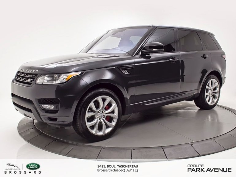 Land Rover Range Rover Sport V8 Supercharged DYNAMIC | TOIT PANO + NAV 2016