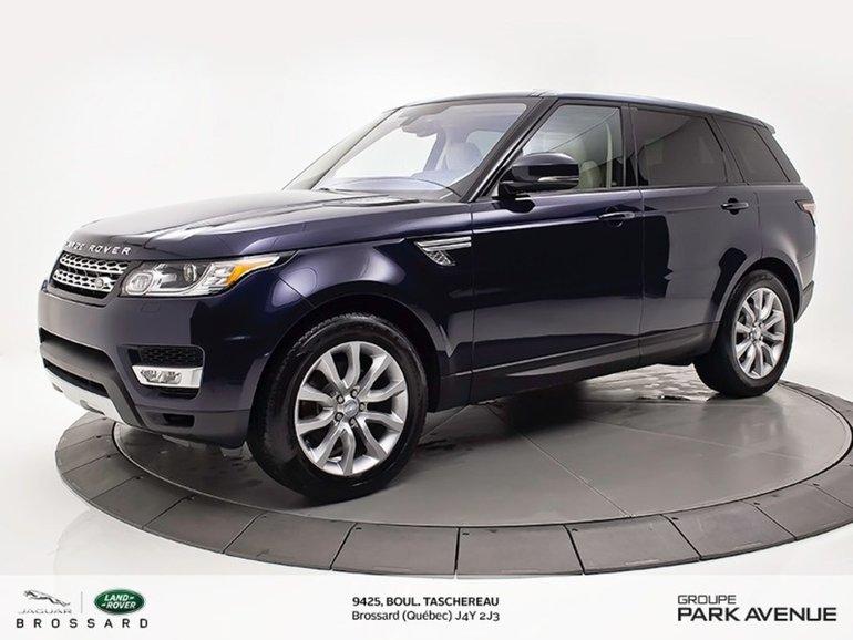 2016 Land Rover Range Rover Sport V6 SE   PARE-BRISE ET VOLANT CHAUFFANT