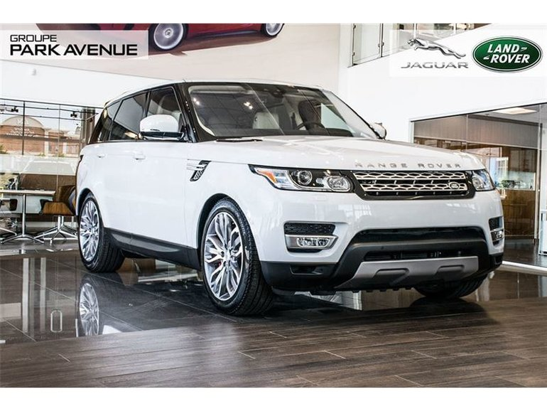 Land Rover Range Rover Sport V8 Supercharged *CERTIFIÉ* 2017