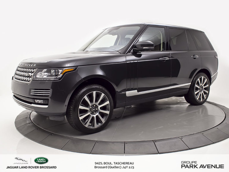 Land Rover Range Rover 5.0L V8 Supercharged Autobiography 2015