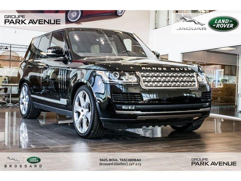 2016 Land Rover Range Rover 5.0L V8 Supercharged *certifié !*