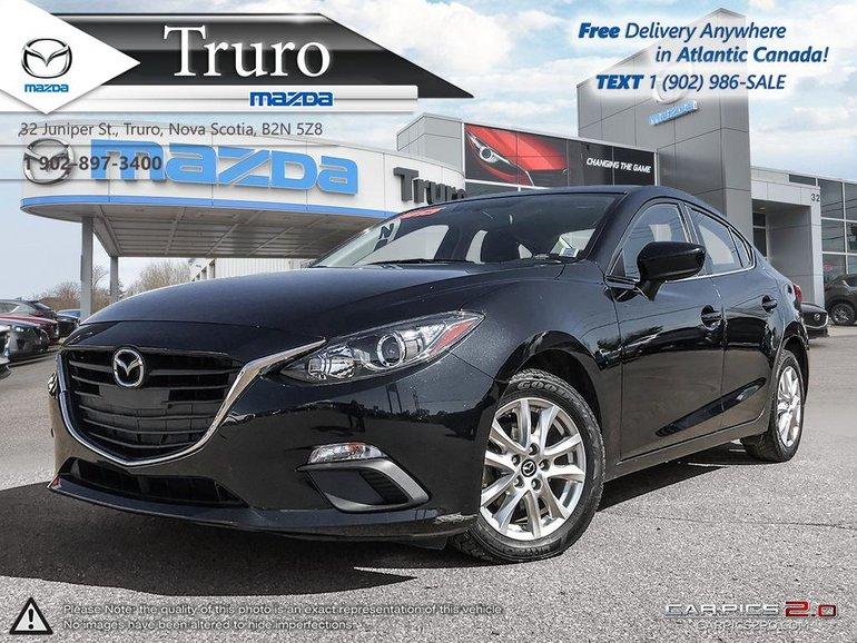 2015 Mazda Mazda3 EXT WARRANTY/2020!!! GS! AUTO!HEATED SEATS!