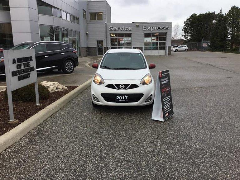 2017 Nissan Micra 1.6 SR at