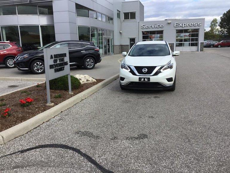 2018 Nissan Murano S FWD CVT