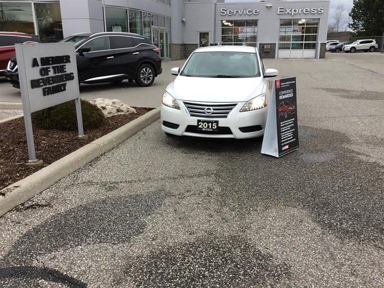 2015 Nissan Sentra 1.8 SV CVT