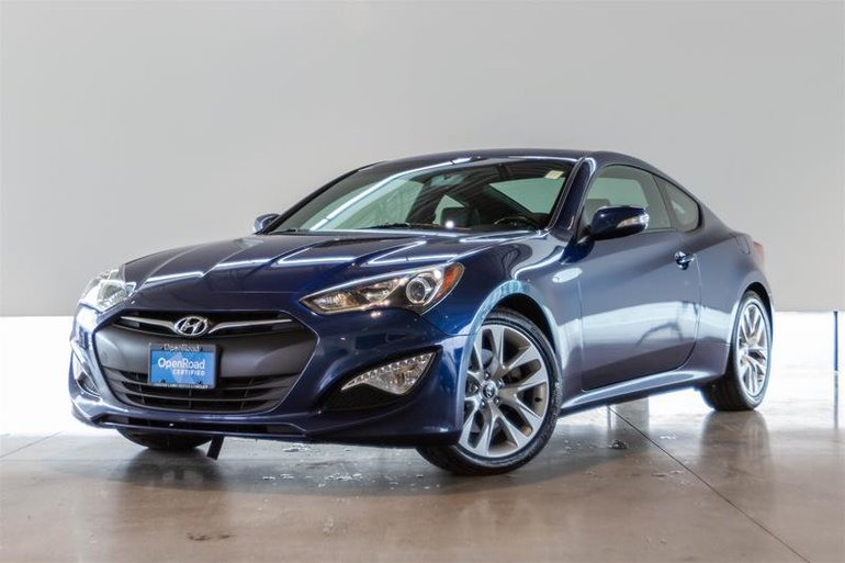 2015 Hyundai Genesis Coupe 3.8L GT 6sp