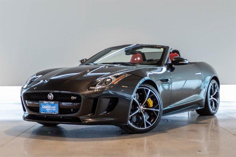 Pre-Owned 2015 Jaguar F-TYPE Convertible - $54995.0 ...