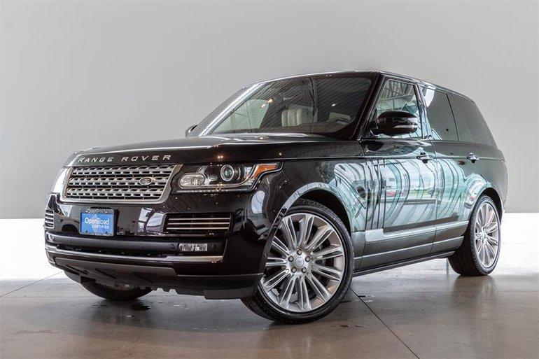 2015 Land Rover Range Rover V8 Supercharged SWB