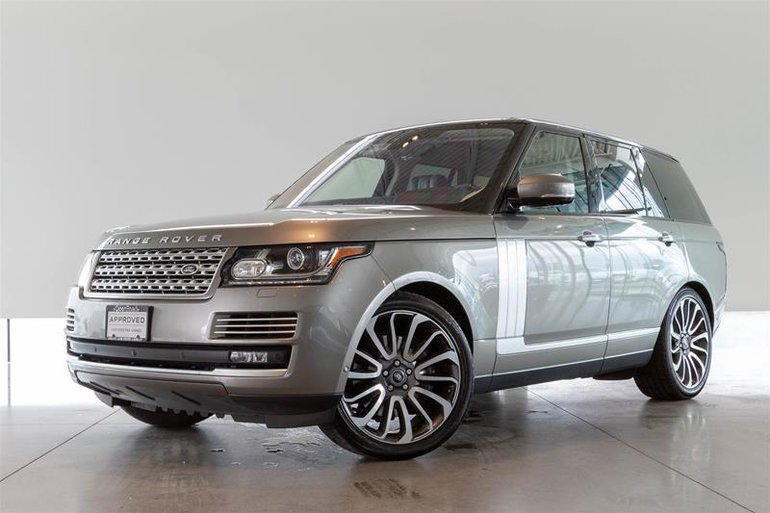 2017 Land Rover Range Rover V8 Autobiography Supercharged SWB