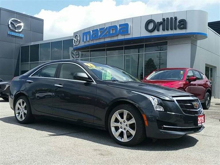 2015 Cadillac ATS ***NEW PRICE***LEATHER-AWD-HEATED SEATS-TURBO