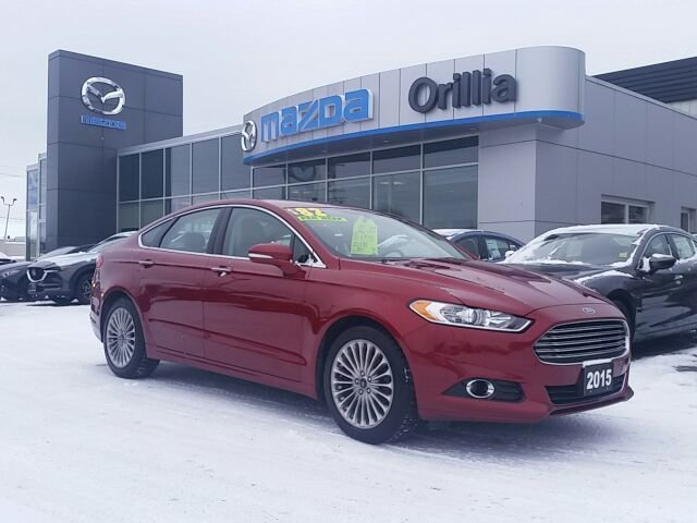 2015 Ford Fusion LEATHER-AWD-BACKUPCAMERA-ROOF-HEATED/COOLED SEATS