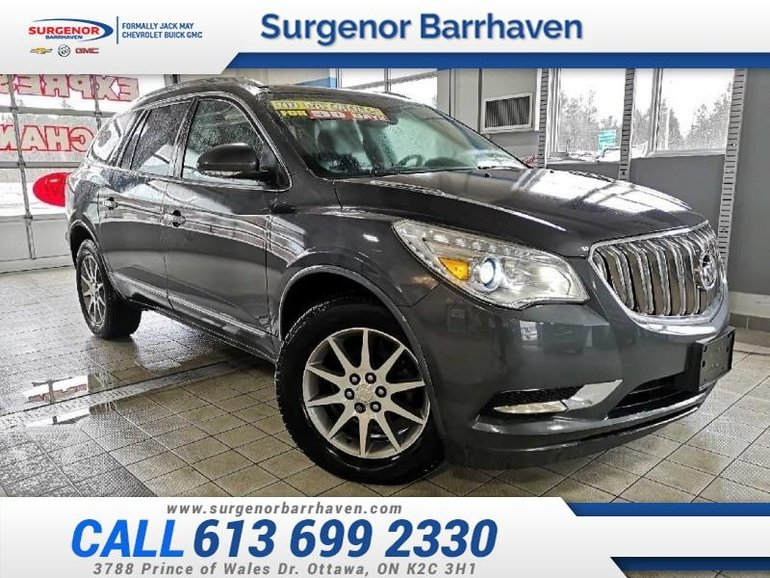 2014 Buick Enclave Leather  - Bluetooth -  Leather Seats - $116.61 B/W