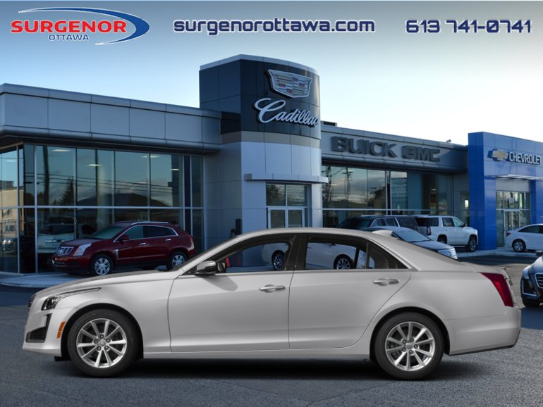 2018 Cadillac CTS Luxury Collection  - Leather Seats - $309.94 B/W