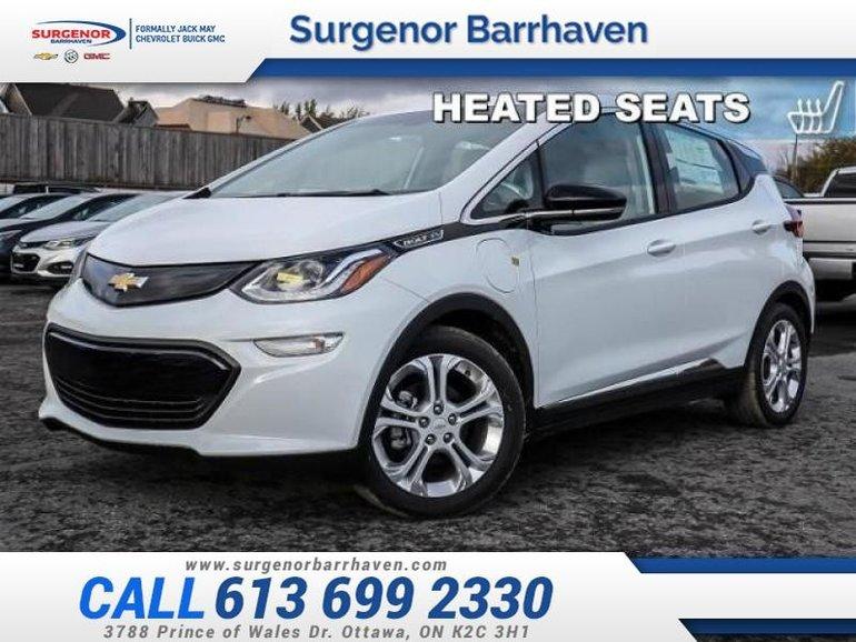 2019 Chevrolet Bolt EV LT  - Navigation -  Heated Seats - $297.60 B/W