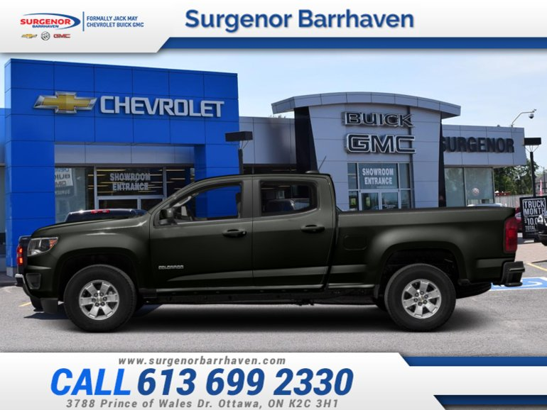 2018 Chevrolet Colorado Work Truck  - Wheel Flares - $263.42 B/W