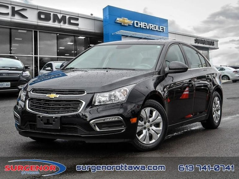 2015 Chevrolet Cruze LT Turbo  - Bluetooth -  SiriusXM - $94.20 B/W