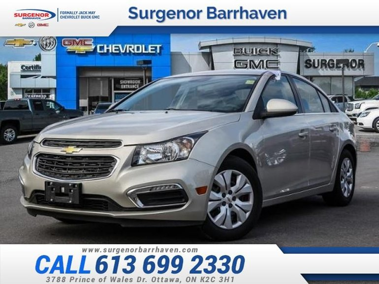 Chevrolet Cruze LT w/1LT  - $97.33 B/W - Low Mileage 2015