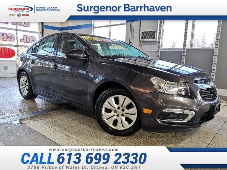 2015 Chevrolet Cruze LT w/1LT  - $83.38 B/W