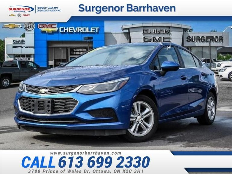 2017 Chevrolet Cruze LT  - $122.88 B/W