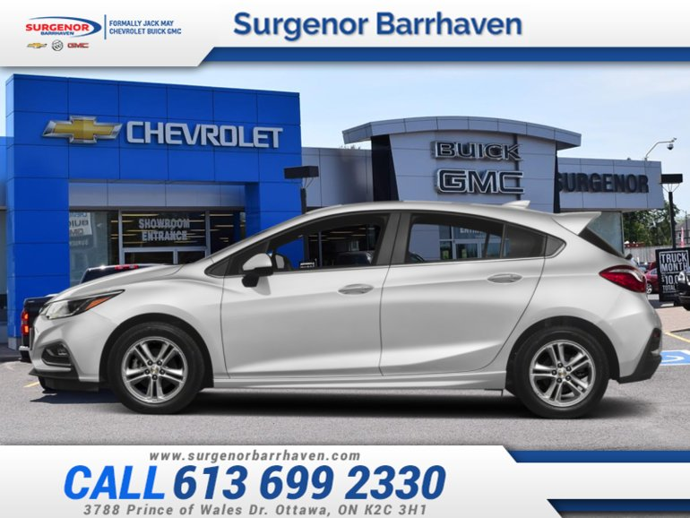 2018 Chevrolet Cruze LT  - $184.85 B/W