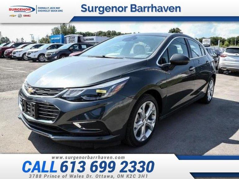 Chevrolet Cruze Premier  - $197.63 B/W 2018