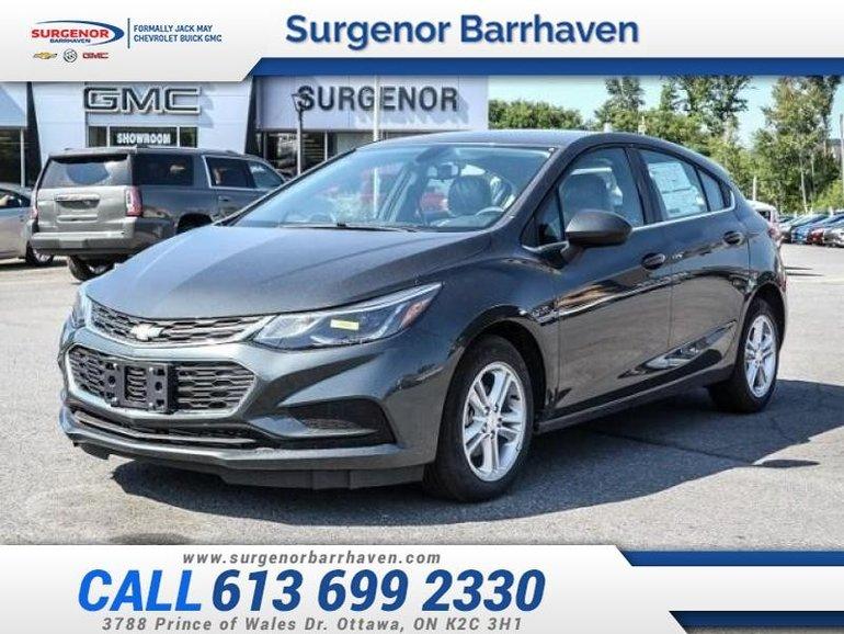 2018 Chevrolet Cruze LT  - $142.00 B/W