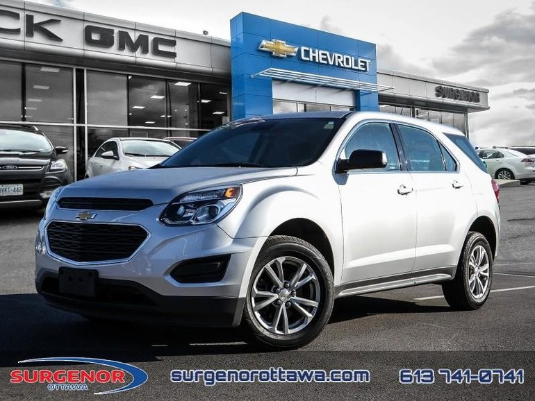 Chevrolet Equinox LS  - Bluetooth -  OnStar - $160.02 B/W 2017
