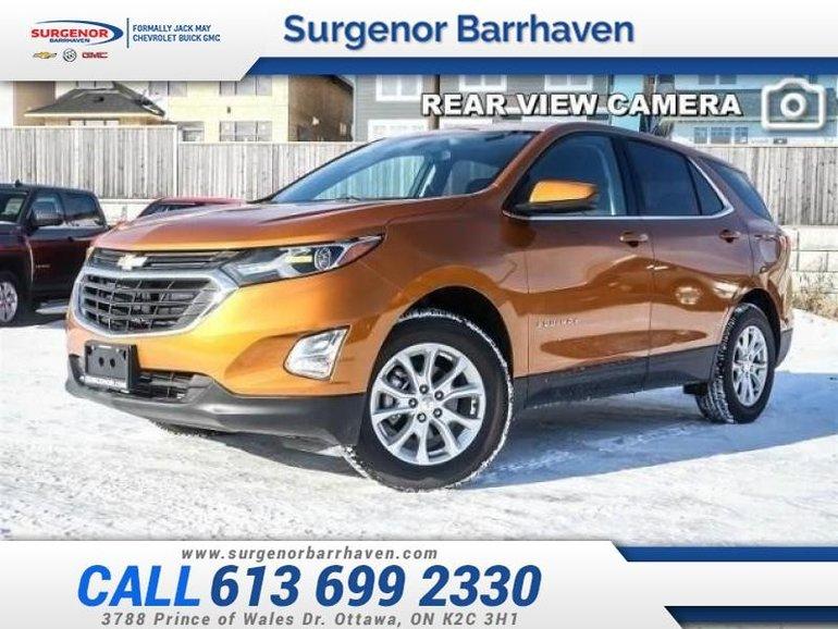 2018 Chevrolet Equinox LT  - Bluetooth -  Heated Seats - $217.99 B/W