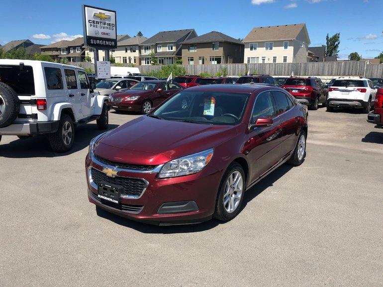 Chevrolet Malibu LT w/1LT  - Bluetooth -  SiriusXM - $96.57 B/W 2015
