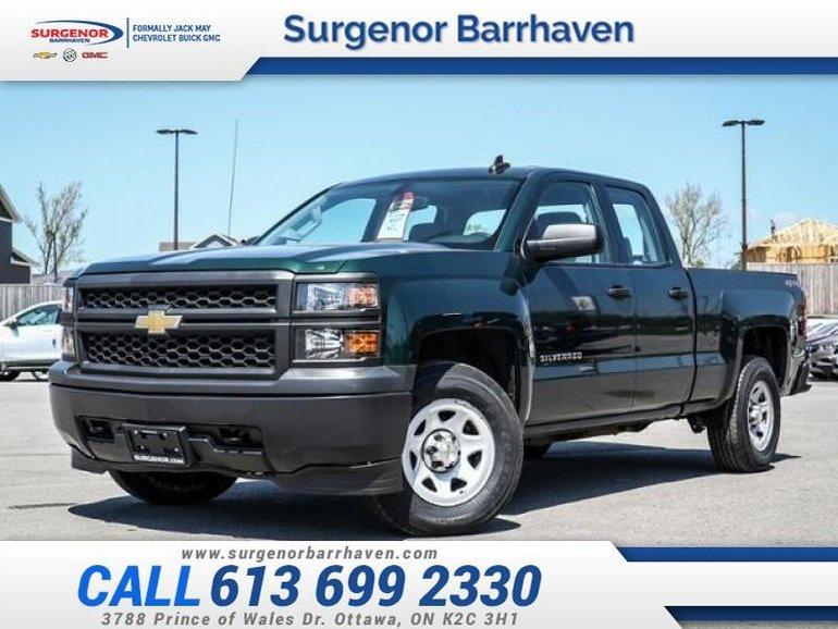 2015 Chevrolet Silverado 1500 DOUBLE WT/STANDARD  - $196.48 B/W