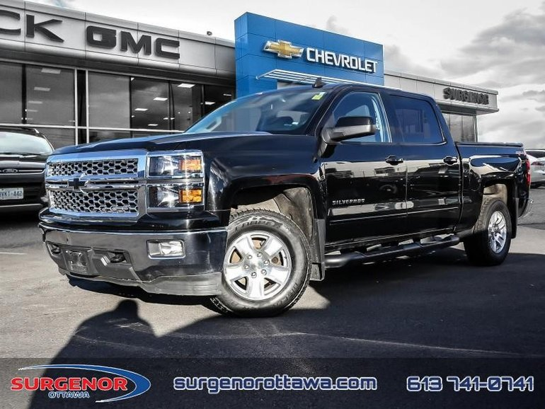 2015 Chevrolet Silverado 1500 Crew 4x4 LT / Short Box  - $213.28 B/W