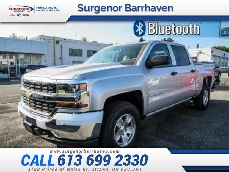 2018 Chevrolet Silverado 1500 LS  - MyLink -  Bluetooth - $298.24 B/W