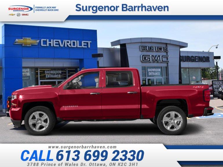 Chevrolet Silverado 1500 Custom  - $361.01 B/W 2018