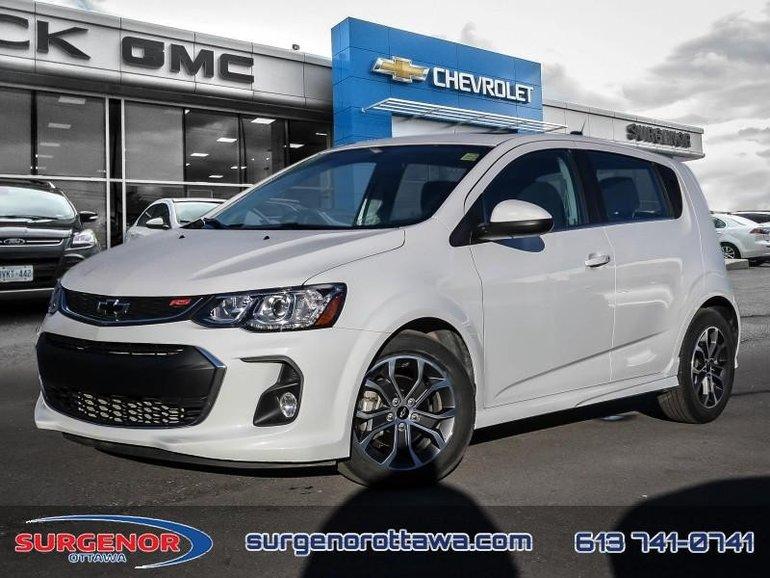 2018 Chevrolet Sonic LT Hatch  - Certified - Bluetooth - $119.65 B/W