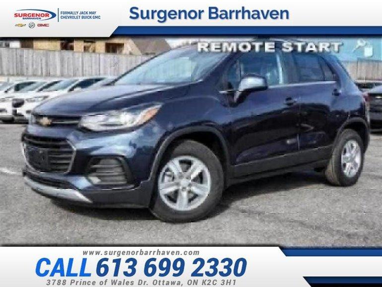 Chevrolet Trax LT  - Bluetooth - $145.89 B/W 2019