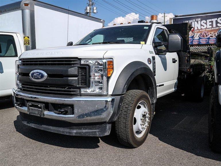 Ford F-550 Dump box 2017