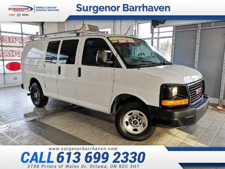 2015 GMC Savana Cargo Van 135 WHEELBASE  - $125.16 B/W