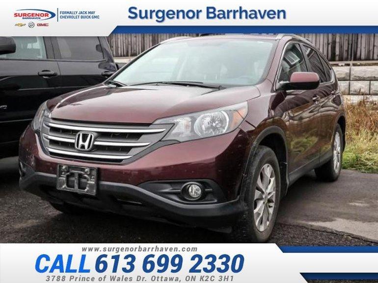 Honda CR-V EX  - Sunroof -  Bluetooth - $122.60 B/W 2014