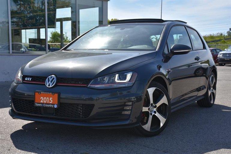 2015 Volkswagen Golf GTI 3-Dr 2.0T Autobahn at DSG Tip