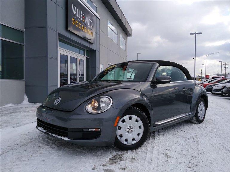 Volkswagen Beetle 1.8 TSI CL**DÉCAPOTABLE,CUIR,16''** 2014