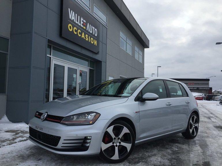 Volkswagen GTI AUTOBAHN**GPS,AIDE CONDUITE,SENSOR,ETC** 2016
