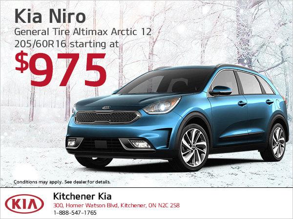 Kia Niro | Winter tire special