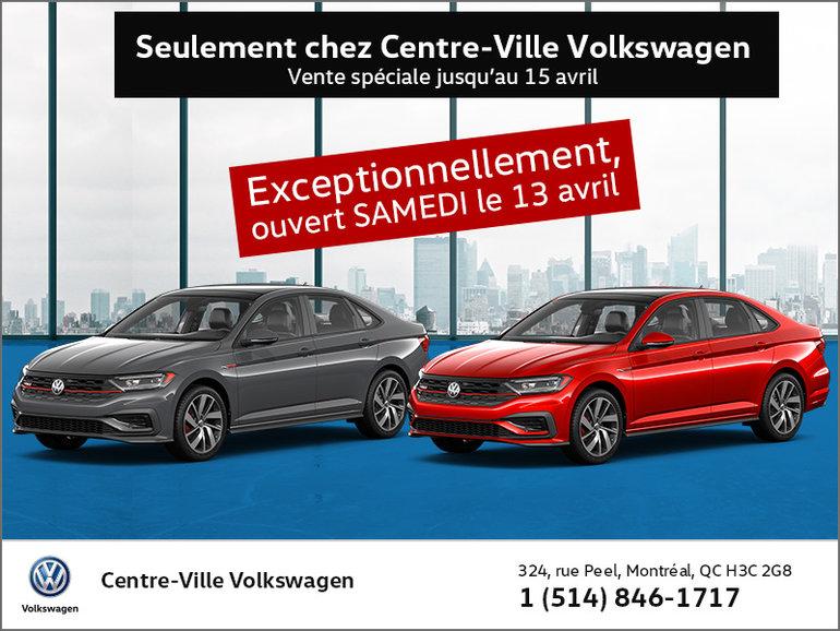 Seulement chez Centre-Ville Volkswagen